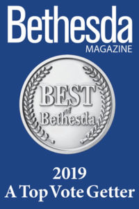 Bethesda Magazine - 2019 Top Vote Getter Logo